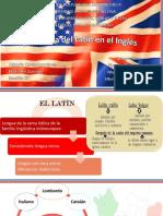 Influencia Del Latín en El Inglés