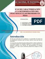 PESO MOLECULAR PROMEDIO EN MASA.pptx