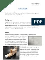 copy of car crash pbl report