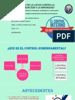 Control Interno en El Peru