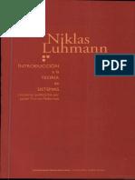 Esquema Agil (parsons) explicado por Luhmann
