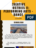 Dances in Luzon