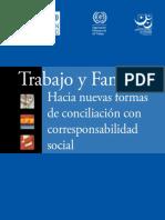 Trabajo y familia. Conciliación con corresponsabilidad