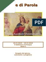 Sete di Parola - V settimana Pasqua  - C.doc