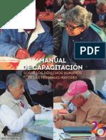 Manual de Capacitación DDHH Personas Mayores