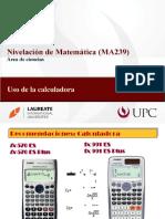 MA239 Uso de La Calculadora