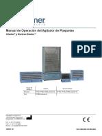 Agitador de Plaquetas Helmer_operation_manual