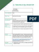 f2f lesson - main idea and key details