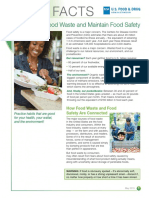 How to Cut Food Waste and Maintain Food Safety