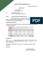 Informe Tecnico Pedagogico Anual 2014-Prg