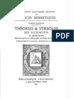 1891 Poisson Theories Symboles Des Alchimistes