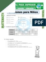 Ficha Divisiones Para Niños Para Tercero de Primaria