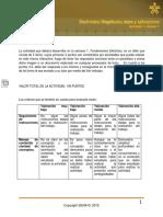 Electronica Magnitudes, Leyes y Aplicaciones Actividad 1