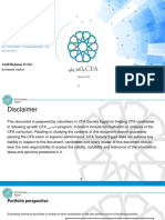 39. Portfolio Management an Overview