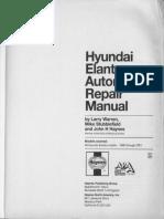Hyundai Elantra 1996-2001 Ingles