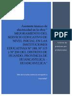 Informe de Practicas Huando