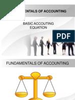 Fundamentals of Accounting 1