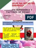 Hermorragias 2da Mitad Del Embarazo