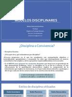 Los Modelos Disciplinares(1)