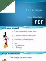 4to El Ensayo