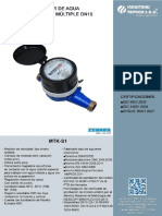 Catálogo Mtk-s1 Dn15 Mid Zenner