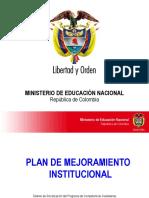 7. Plan de Mejoramiento