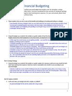 varun sundar unit 3-module 1 assessment - budgeting