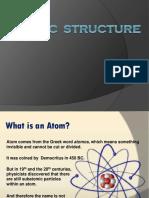 Atomic Structure Presentation