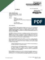 Oficio Indira Huilca a Ministra Fabiola Muñoz
