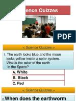 Science Quizzes Fun Activities Games Games 104161