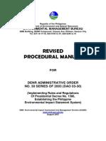 EIS Procedural Manual