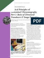 [2015] Part 1 - Basics of Ultrasound Transducers & Image Formation