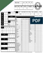 CW Character Sheet General