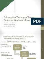 2018 Tantangan Tenaga Promkes