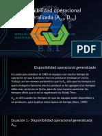 Disponibilidad Operacional Generalizada (AGO, DOG)