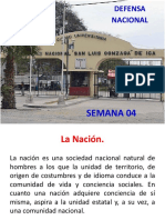 04 - Semana - Defensa Nacional