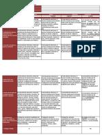RUBRICA Directorio 0 - Plan Inicial