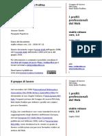 Profili professionali del Web - Gruppo IWA Italy Web Skills Profiles - luglio 2010