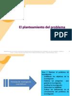 Planteamiento Del Problema - Metodología de Investigación Cuantitativa
