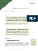 10.- Necesidades en La Adolescencia