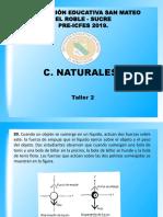 Ciencias Naturales Simulacro V