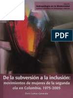 De La Subversion a La Inclusion Movimien