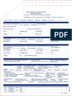 Formulario Apertura de Cuenta Corriente Bancolombia