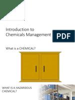01 Introduction Chemicals Management