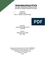 Actividad 3 Epidemiología Taller 2 Estadistica