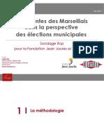 Les attentes des Marseillais pour les municipales - analyse, Fondation Jean-Jaurès.pdf