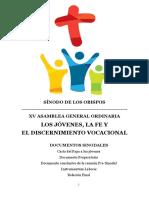 Documentos Sinodales 2018