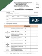 2019-I Secundaria Ciclo 07 Ficha 02 Evaluación Del Desarrollo de La Sesión de Tutoria