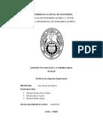 Perfil de Investigacion