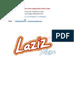 Laziz Pizza India